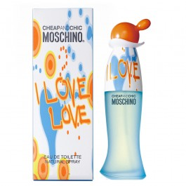 Moschino I Love Love Eau de Toilette Fem 100 ml